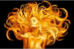Засоби для блиску волосся