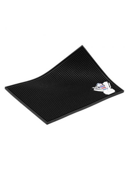 Термостійкий килимок для плойки, праски гумовий перукарський (34 * 23 см)
