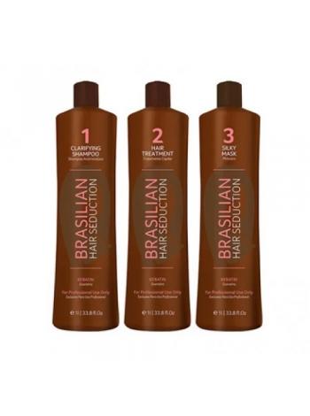 Набор кератина для волос Brasilian Hair Seduction