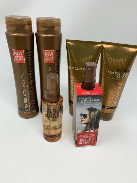 Набір Brazilian Blowout Anti-Frizz для домашнього догляду за волоссям (6 позицій)