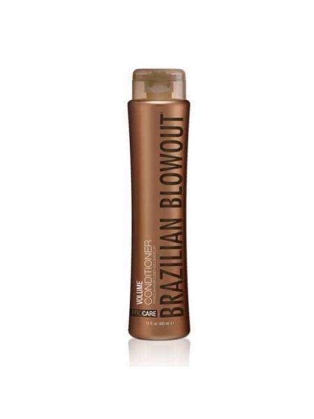 Безсульфатный кондиционер Brazilian Blowout Volume Conditioner для объема волос