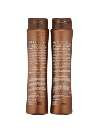 Набір Brazilian Blowout Anti-Frizz для розгляджування волосся (шампунь + кондиціонер)