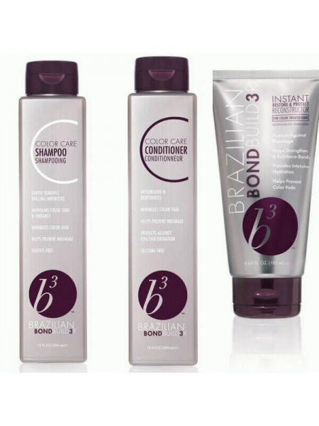 Набір B3 Color Care для збереження кольору волосся (шампунь+кондиціонер+маска)