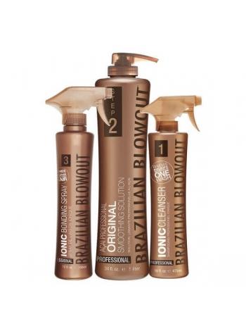 Набір Brazilian Blowout Original Solution для кератинового випрямлення волосся