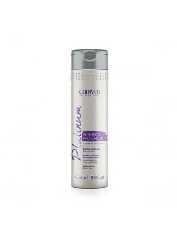 Тонирующий шампунь Cadiveu Platinum Shampoo Matizator