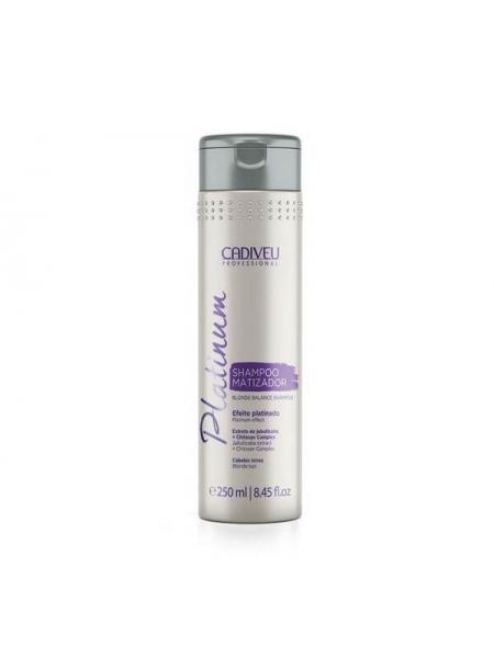 Тонуючий шампунь Cadiveu Platinum Shampoo Matizator