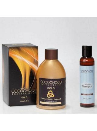 Набір Cocochoco Gold для кератинового випрямлення