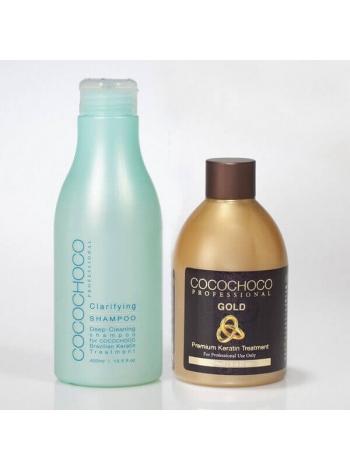 Набор Cocochoco Gold для кератинового выпрямления