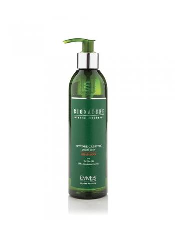 Шампунь Emmebi Italia Bionature Shampoo Fatt Crescita Фактор роста