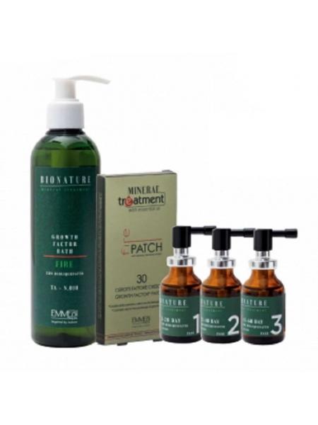 Домашний набор интенсивного лечения от выпадения волос Emmebi Italia Bionature