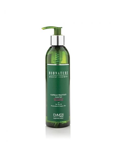 Шампунь Emmebi Italia Bionature Treated Hair Shampoo для пошкодженого волосся
