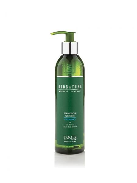 Шампунь Emmebi Italia Bionature Shampoo Iperidrosi від гіпергідрозу
