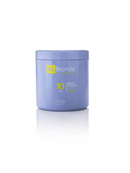 Осветляющая пудра Emmebi Be Blonde Extreme Light Silver 10