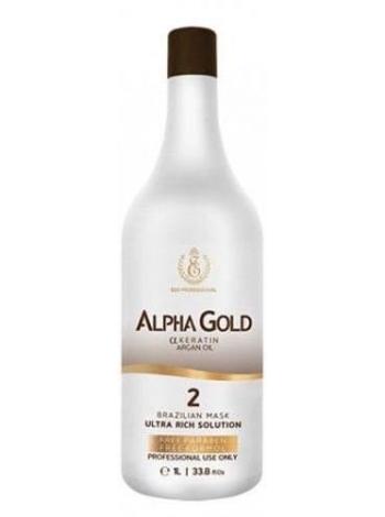 Нанопластика для волосся Alpha Gold ESK Professional