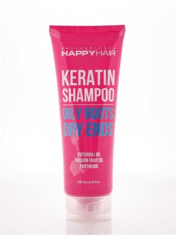 Шампунь Happy Hair Keratin Shampoo безсульфатний