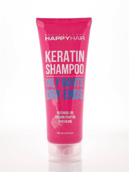 Шампунь Happy Hair Keratin Shampoo безсульфатный
