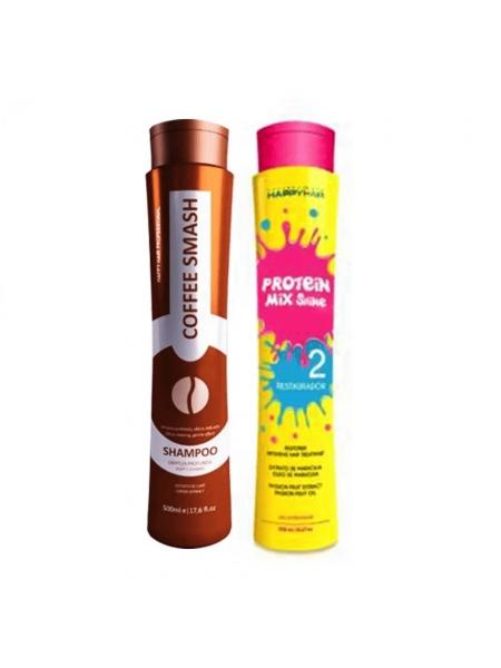 Набір кератину для волосся Happy Hair Protein Mix Shine
