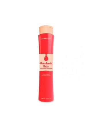 Набір кератину для волосся Happy Hair Macadamia Gloss
