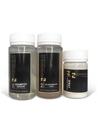 Honma Tokyo Coffee Premium Collagen Набор для кератинового выпрямления