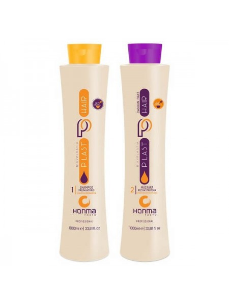 Биксипластия Honma Tokyo Plast Hair Bixyplastia Passion Fruit, набор