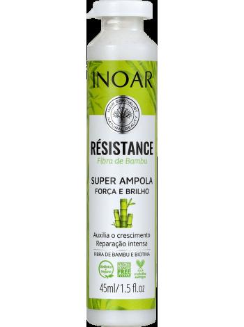 Ампула Inoar Résistance Bamboo Fiber для ламінування волосся (45 мл)