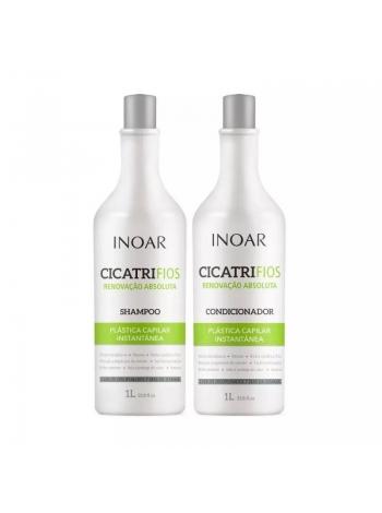 Набор Inoar Cicatrifios Duo шампунь + кондиционер