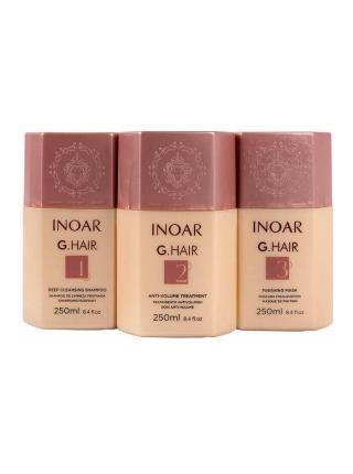 Набор Inoar G.Hair Premium для кератинового выпрямления волос