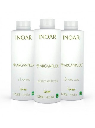 Набір Inoar Argan Pleх для захисту волосся під час фарбування
