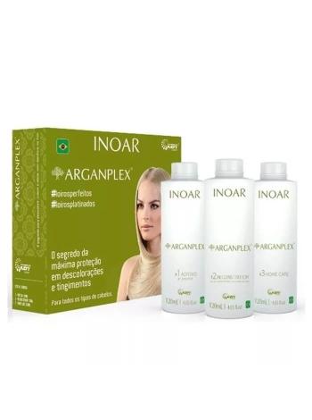 Набор Inoar Argan Pleх для защиты волос во время окрашивания