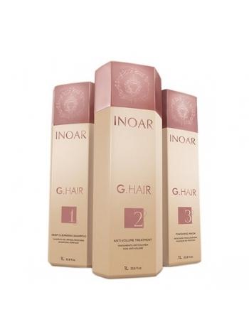 Набір Inoar G.Hair Premium для кератинового випрямлення волосся