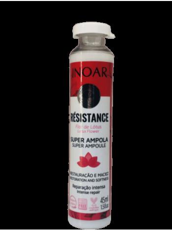 Ампульний ботокс Inoar Resistance Flor de Lotus для капілярного відновлення волосся