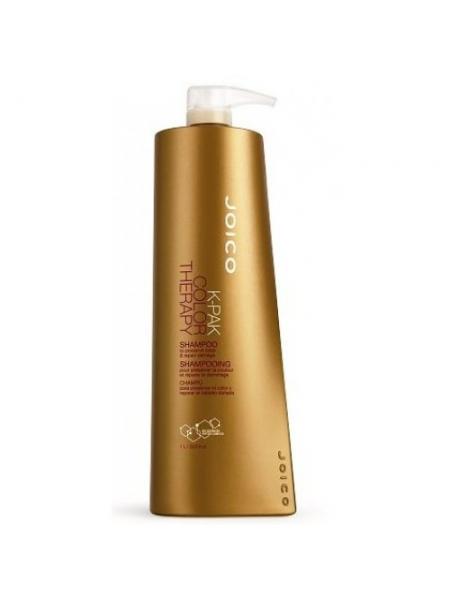 Шампунь восстанавливающий для окрашенных волос Joico K-pak color therapy shampoo (1000 мл)