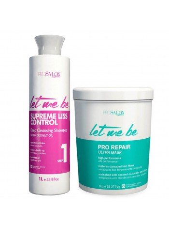 Набір холодного ботоксу для волосся Let me be B-Btox Pro Repair