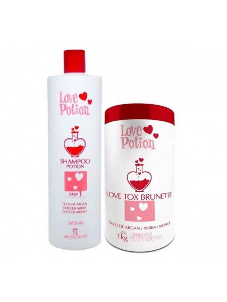 Набір бoтoкcу Love Potion Love Tox Brunette Óleo De Argan