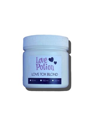Бoтокc для волос Love Potion Blond ToxBlond матирующий для блондинок