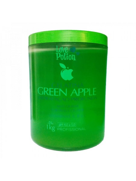 Колаген Love Potion Gelatina Green Apple