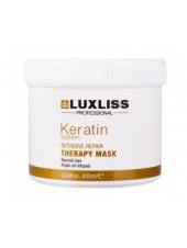Maска для домашнего ухода за волосами Luxliss Keratin Repair Therapy Маsk