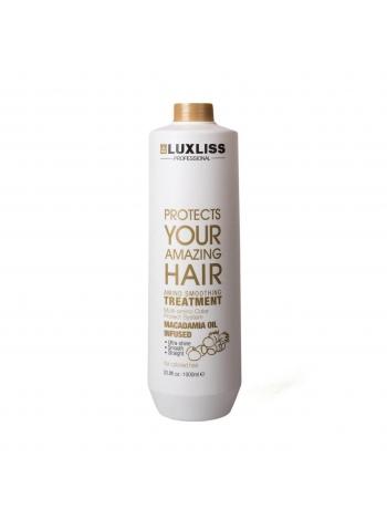 Кератин для випрямлення волосся Luxliss Amino Smoothing Treatment