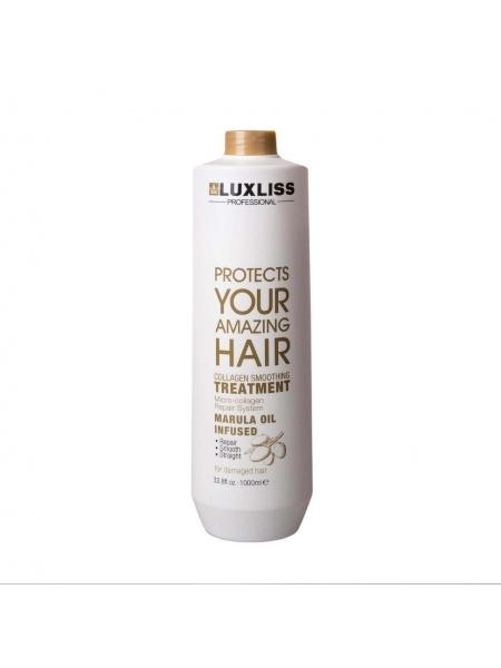 Кератин для випрямлення волосся Luxliss Collagen Smoothing Repair System