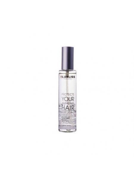 Кератиновий спрей блиск для волосся Luxliss Keratin Heat Protecting Shine Mist (50 мл)