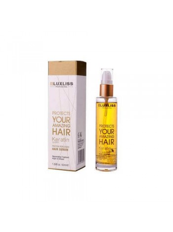 Кератиновое масло Luxliss Keratin Protein Replenish Hair Serum (50 мл)