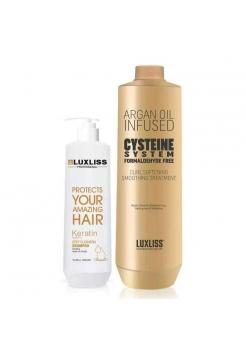 Набор кератина для волос Luxliss Cysteine Treatment Formaldehyde Free (без формальдегида)