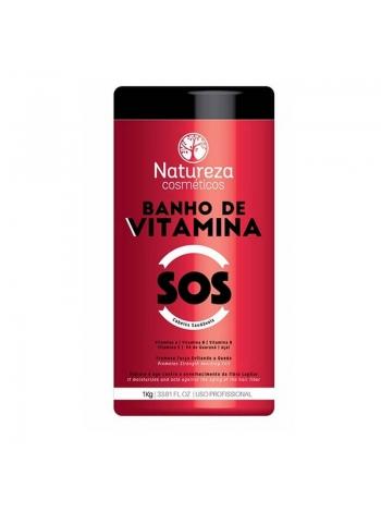 Ботокс-восстановление волос NATUREZA SOS Banho de VITAMINA