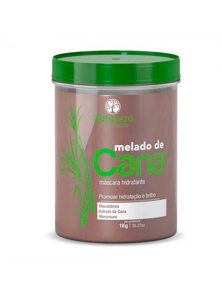 Ботокс-гіперзволоження для волосся NATUREZA Melado de Cana Máscara Hidratante