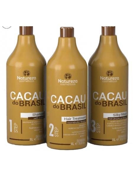 Кератин Natureza Cacau do Brasil, набор