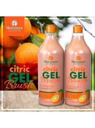 Набір кератину Natureza Citric Gel Brush