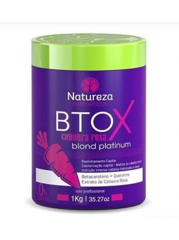 Ботокс для волосся Natureza Btox Cenoura Roxa blond platinum