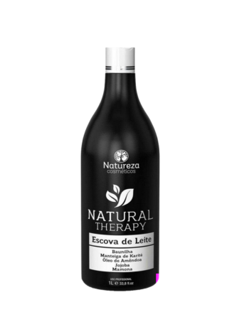 Нанопластика для волос Natureza Escova de Leite