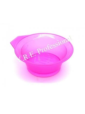 Миска для краски для волос, кератина круглая с ручкой без резинки
