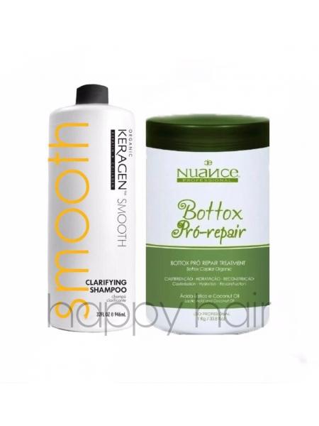 Набор холодного ботокса для волос Nuance btox Pro Repair